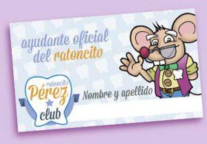 Ven a por tu carnet de ayudante del ratoncito Pérez