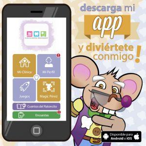 App del Club Ratoncito Pérez - Innovadent